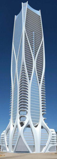 Zaha Hadid Unveils New Details About Her Miami Skyscraper [Zaha Hadid: http://futuristicnews.com/tag/zaha-hadid/] Más sobre ciudades y futuro sostenible en www.solerplanet.com
