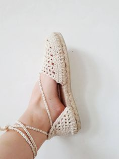 Crochet espadrilles pattern crochet shoes pattern crochet