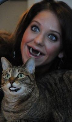 25 Horrifying And Hilarious Face Swaps - Animals & Nature Gallery Scary Face Swap, Funny Face Swap, Creepy Faces, Funny Faces, Animal Face Swap, Dental Humor, Dental Hygiene, Dental Health, Oral Health