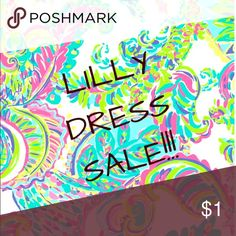 🎉🎉🎉Lilly Pulitzer Dress Sale!! 🎉🎉🎉 Lilly Pulitzer closet sale!! Most Lilly dresses $99 and under! Huge markdowns as everything needs to go! Bundle and save $$ most reasonable offers accepted!! Lilly Pulitzer Dresses