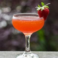 Strawberry Letter w/ rum