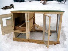Backyard Chicken Product: Coop Building Plans - Urban Chicken Coop Plans (up to 4 chickens) - from My Pet Chicken