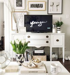 classic and neutrals, how to hide your tv