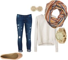 Love this cozy look for fall!