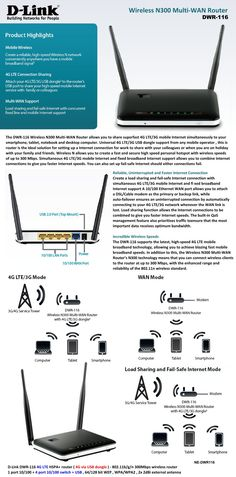 Wireless N300 Multi-Wan Router