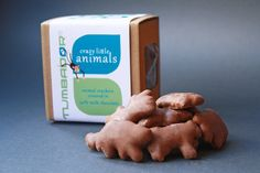 We love these delicious little guys! Crazy Little Animals  #MadeClose #TumbadorChocolate #MadeinBrooklyn #EatLocal #milkchocolate #animalcrackers #snackattack
