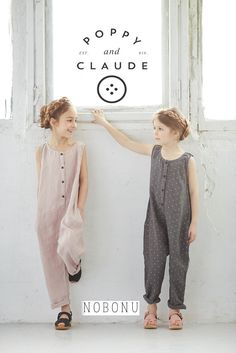 For the First Time in the U.S. we welcome Nobonu SS17 : : POPPY and CLAUDE