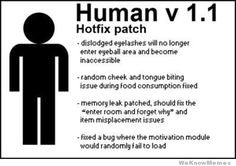 human hotfix patch
