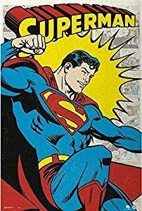 Amazon.com: DC Comics - Superman - Classic 24x36 Poster: Posters & Prints