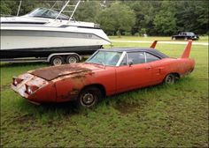 1970 Plymouth Superbird Maintenance of old vehicles: the material for new cogs/casters/gears/pads could be cast polyamide which I (Cast polyamide) can produce Classic Trucks, Classic Cars, 1969 Dodge Charger Daytona, Dodge Daytona, Junkyard Cars, Plymouth Superbird, Abandoned Cars, Abandoned Vehicles, Aussie Muscle Cars