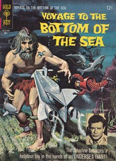 THE SEAVIEW DISCOVERS THE ROBINSON CRUSOE OF THE DEPTHS !!! http://beachbumcomics.blogspot.com/