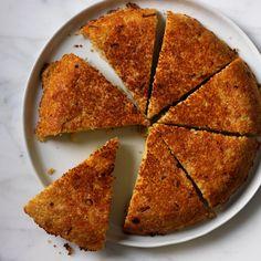 Crunchy Couscous Galette // More Tasty Couscous Recipes: http://www.foodandwine.com/slideshows/couscous-recipes #foodandwine