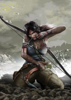 Tomb Raider Lara Croft Art Silk Canvas Poster Print inches New Game Wall Picture Home Room Tomb Raider Lara Croft, Tomb Raider 2012, Tomb Raider Game, Tomb Raider Cosplay, Medieval Combat, Tomb Raider Reboot, Character Inspiration, Character Art, Mononoke Cosplay