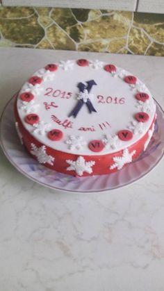 tort de revelion Birthday Cake, Desserts, Food, Tailgate Desserts, Deserts, Birthday Cakes, Essen, Postres, Meals