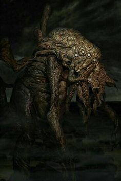 Ph'nglui mglw'nafh Cthulhu R'lyeh wgah'nagl fhtagn.  In his house at R'lyeh dead Cthulhu waits dreaming. H.P. Lovecraft, The Call of Cthulhu
