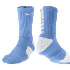 Nike Elite socks light blue