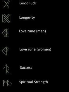 Glyph symbols
