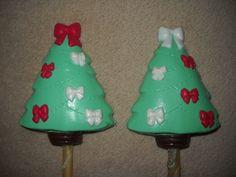 1 Dog Safe Chocolate gourmet christmas bow tie tree Rawhide lollipop Lollipops