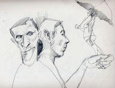 Ulysses Sketchbook: The Inside Passage