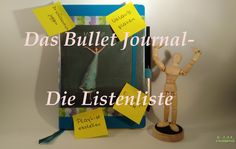 Das Bullet Journal- Die Listenliste   AmlaMe