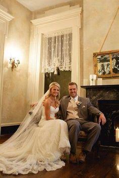 Mr. and Mrs. Graham :) awww so cute!