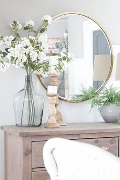 neutral foyer decor, farmhouse living room decor, Top Home Decor Picks for 2019 . neutral foyer decor, farmhouse living room decor, Top Home Decor Picks for 2019 Farmhouse Style Kitchen, Modern Farmhouse Kitchens, Farmhouse Decor, Small Kitchens, Farmhouse Design, Kitchen Small, Kitchen Ideas, Elegant Home Decor, Elegant Homes
