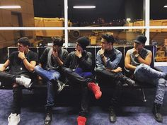 los chicos✨ Latin Music, Music Songs, A Gomez, Cnco Richard, Am I In Love, Backstreet Boys, Girl Bands, Friend Pictures, Future Husband