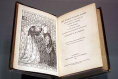 """Ilustración de la serie realizada por Dante Gabriel Rossetti para """"The early italian poets""""."""