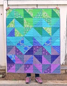 Quilts for Twins - Part 2 (with instructions) | Kitchen Table Quilting | Bloglovin'