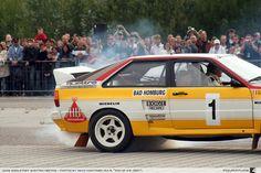Audi rally