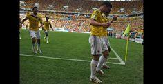 Las mejores imágenes del triunfo de Colombia ante Costa de Marfil | Copa mundial de la FIFA Brasil 2014