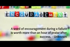 Art of Encouragement – its more than just saying 'good job ...
