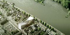 """BIG Shortlisted to Design ARTA """"Arts Cluster"""" in Arnhem"""