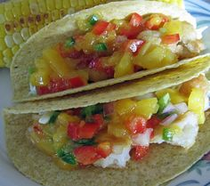Simple Mango Salsa. Photo by WiGal