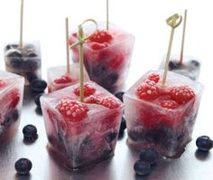 very berry ICE  ...Click this image for tons of goodies & lots more #recipes