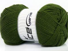 Lund Wool Vert foncé