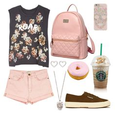 """""""Roar!"""" by shreya16 ❤ liked on Polyvore featuring Current/Elliott, Princess Carousel, Superga, Marc by Marc Jacobs and Alexander McQueen"""