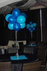 27 best balloon centerpieces images balloon centerpieces balloon rh pinterest com