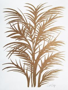 Gold Palms - East End Prints