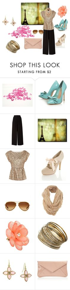 """Sparkle up my day"" by mponte ❤ liked on Polyvore featuring Carvela Kurt Geiger, Mary Portas, Alice + Olivia, Miss Selfridge, Oliver Peoples, Jon Richard, Dorothy Perkins, 1928, L.K.Bennett and cocktail rings"
