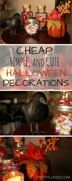 These Halloween decorations are not only adorable but they're also cheap!