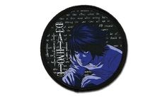 L Anime Patch  Death Note  Iron or Sew On от FanaticFandom на Etsy