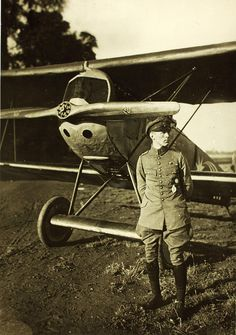 World War One German Aviator Oblt. Harald Auffahrt Jasta 29