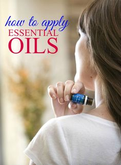 Learning how to apply essential oils isn't difficult. These tips for applying essential oils will show you how to apply and when to dilute your essential oils. Diluting Essential Oils, Doterra Essential Oils, Yl Oils, Essential Oil Diffuser Blends, Essential Oil Uses, Young Living Oils, Young Living Essential Oils, Natural Oils, Natural Products