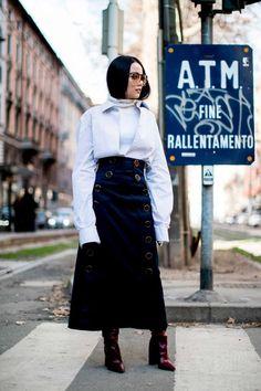 street style fashion week 2017 milan yoyo cao