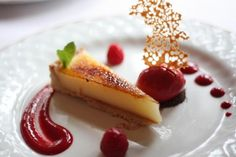 Fine Dining Plated Desserts | Hambleton Hall and the Art of Fine Dining | Plating & Garnishing