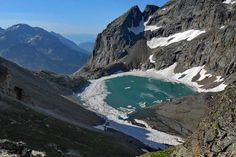 Lac de l'Eychauda (Hautes-Alpes)