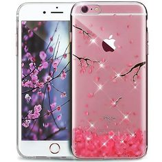iPhone 7 Case,iPhone 7 Cover,ikasus Cherry Blossom Handmade Glitter Bling Crysta  | eBay