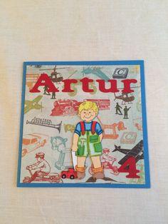 Artur card happy birthday