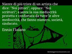 Cartolina con aforisma di Ennio Flaiano (85)